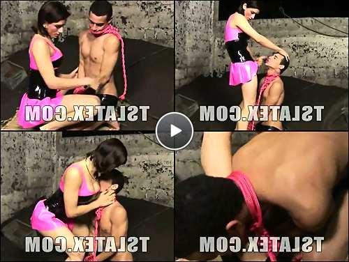 shemale short tight clip video