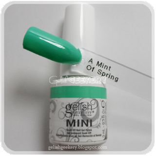 Gelish Swatch A Mint Of Spring