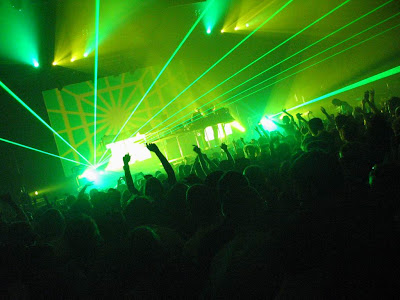 Electronic music was the most influential sound of the late 90's