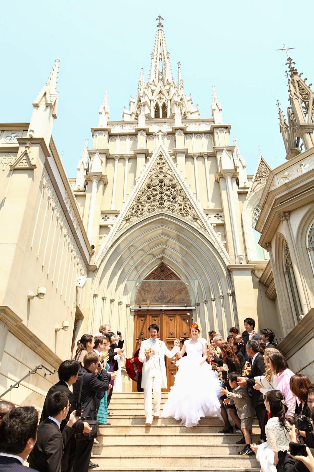Hochzeit in Japan (im westlichen Stil, aber doch irgendwie sehr ...