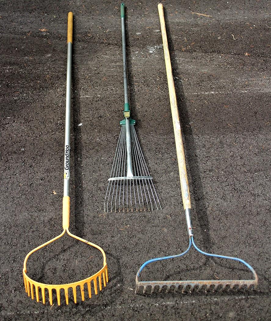 Favorite rakes: The Impatient GArdener