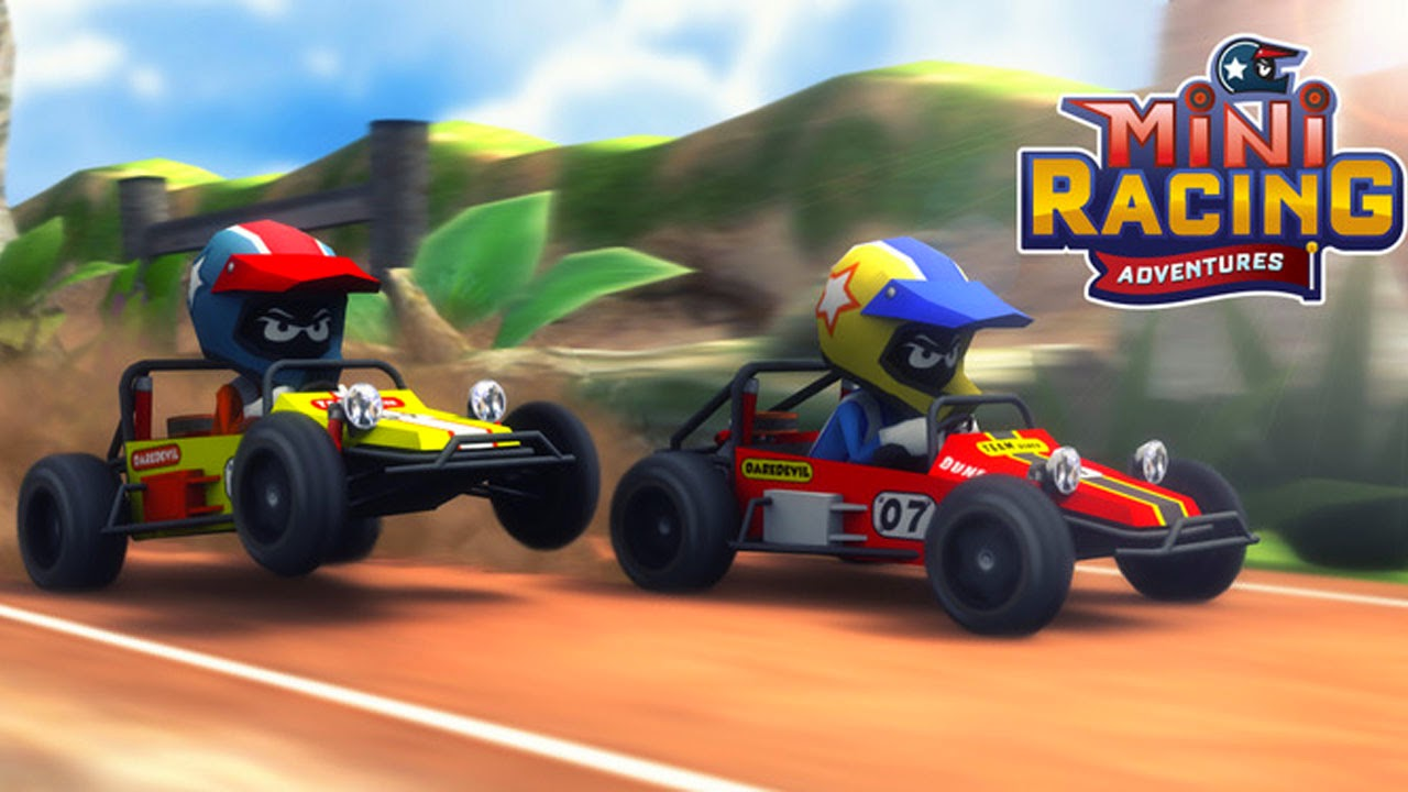 Mini Racing Adventures Gameplay IOS / Android