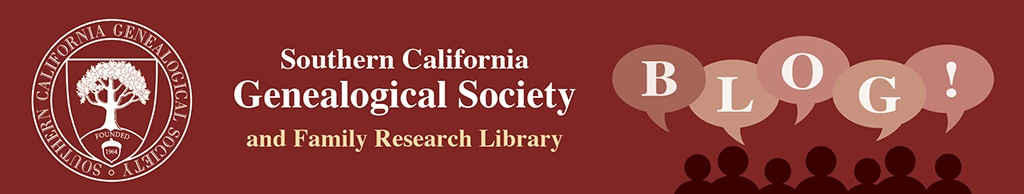 SCGSGenealogical Society Blog
