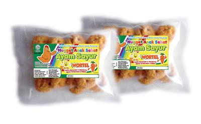Nugget Ayam Sayur Wortel - Anak Sehat Foods