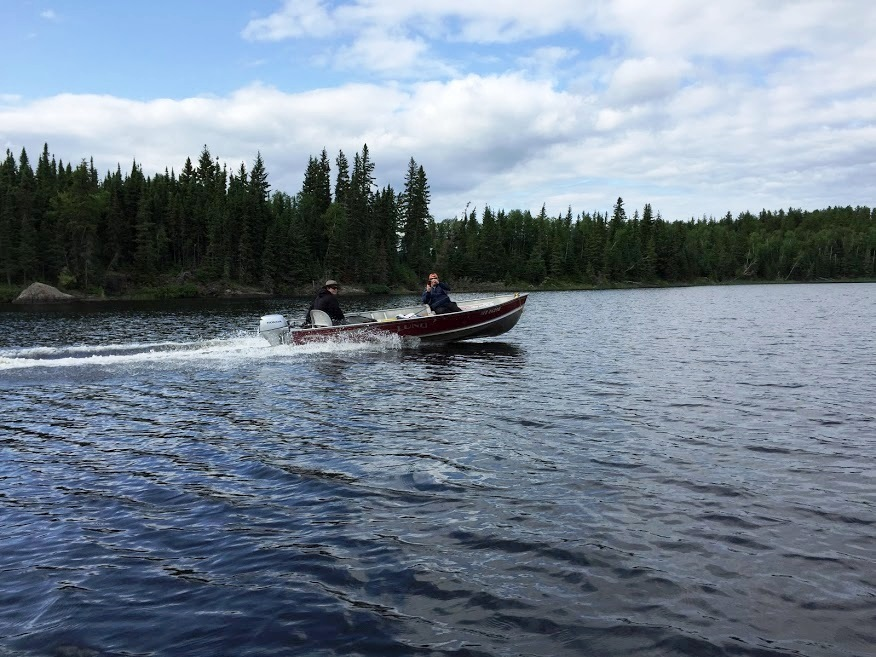 Bow narrows camp blog on red lake ontario a pike for Red lake ontario fishing