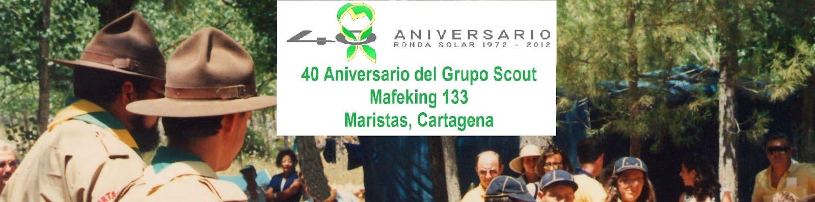 40 aniversario Grupo Scout Mafeking 133, Maristas, Cartagena