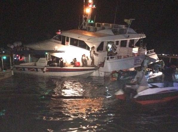 Feri bawa 158 penumpang dan kru karam selepas berlanggar di Semporna