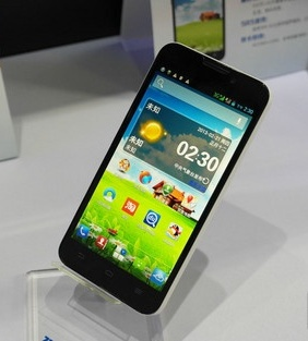 ZTE V967S, Phablet China Jelly Bean, Processor Quad Core, Layar IPS, 5 Inci