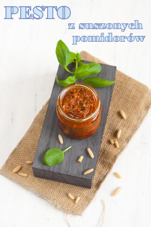Pesto z suszonych pomidorów przepis