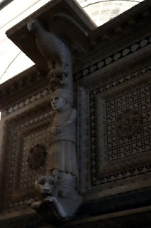 San Miniato Florence Italy Gregorian Chant how old is this sculpture?