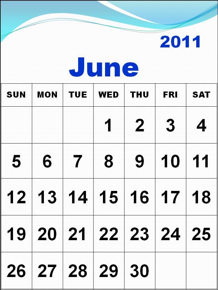 june 2011 calendar. june 2011 calendar blank.