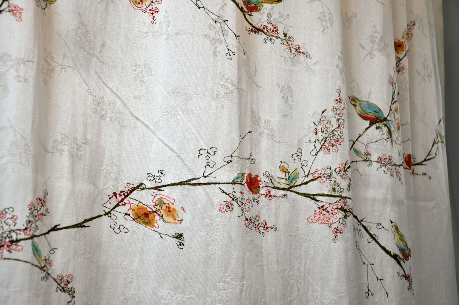The Quality Of The Curtain And The Hooks Has Me Very Impressed. I Liked The  Pattern So Much, I Tried Talking My Husband Into The Matching China  Setu2026needless ...