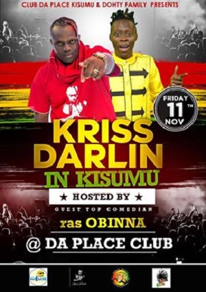 CLUB DA PLACE KISUMU PRESENTS: