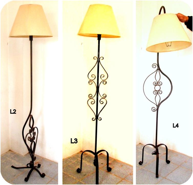 Hierro hogar lamparas de pie y port tiles - Lamparas de hierro ...