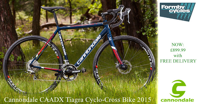 2015 Cyclo-Cross Bike: Cannondale CAADX Tiagra