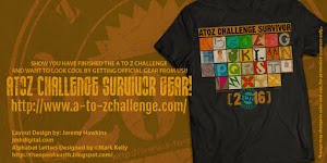 A to Z Challenge 2016 Survivor Gear