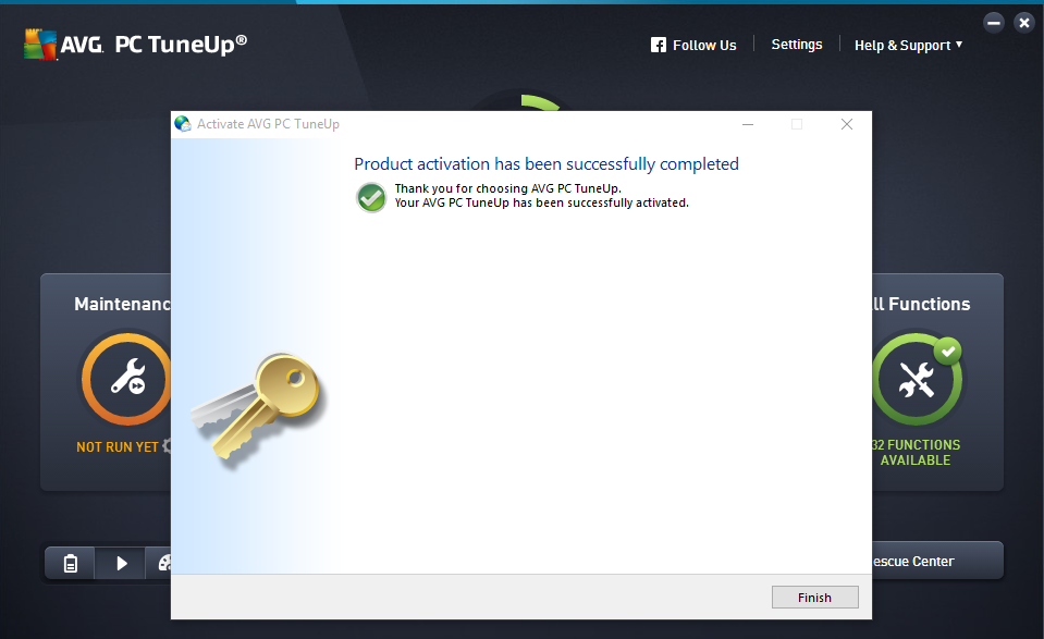 AVG PC TuneUp 2016 Serial Key Archives