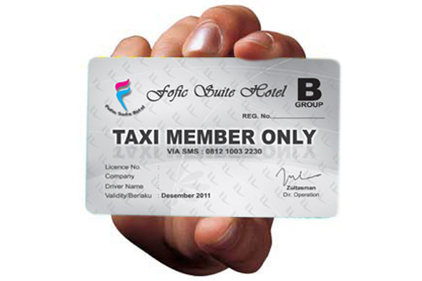 Percetakan Kartu Anggota