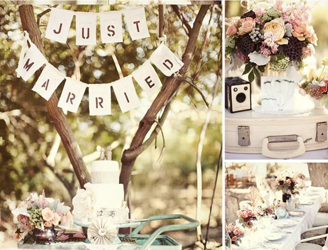 decoracao festa retro : decoracao festa retro: decoracao-para-casamento-vintage-de-maquina-de-costura-antiga-a-flores