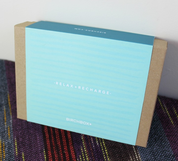 Birchbox January 2015: Relax & Recharge outer box