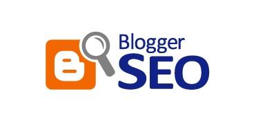 Definir SEO configuração Painel do blogger