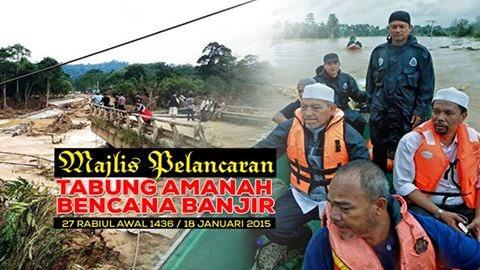 Majlis Pelancaran Tabung Amanah Bencana Banjir