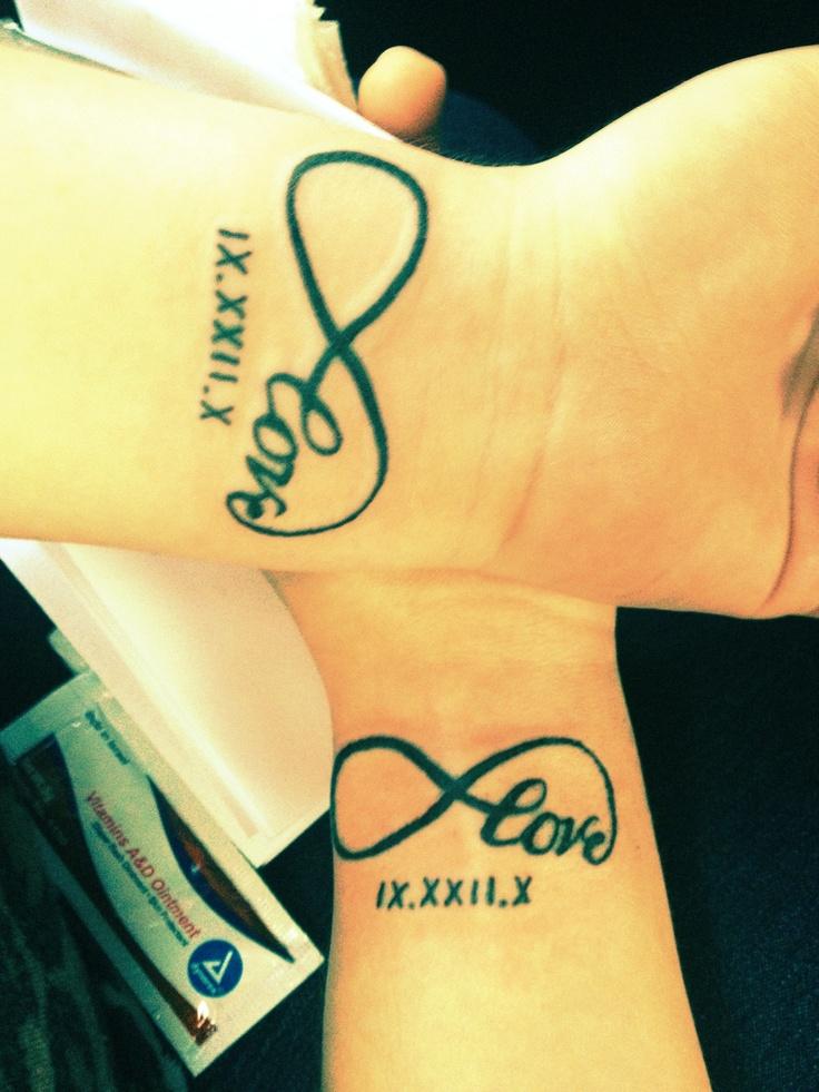 tatuajes del infinito para mujer