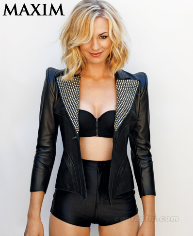 Yvonne Strahovski on Maxim Magazine