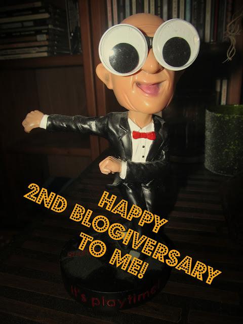 Happy 2nd blogiversary to Heartache Into Beauty!