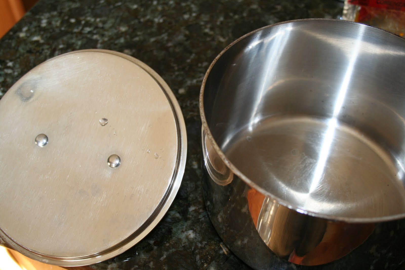 how to get burnt stuff off a pot