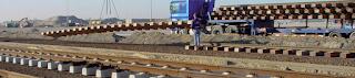 leseni in betonski železniški pragovi
