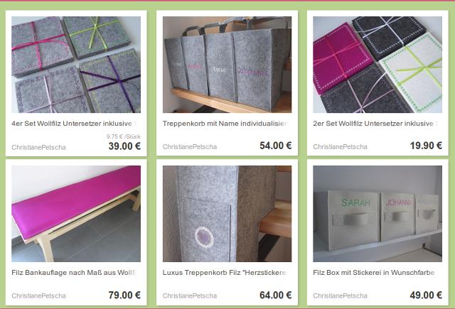 Christiane Petscha - DaWanda-Shop