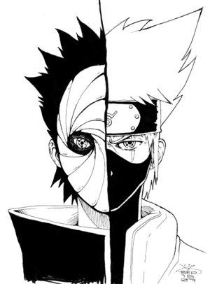 naruto 597 masked madara is obito anime jokes collection