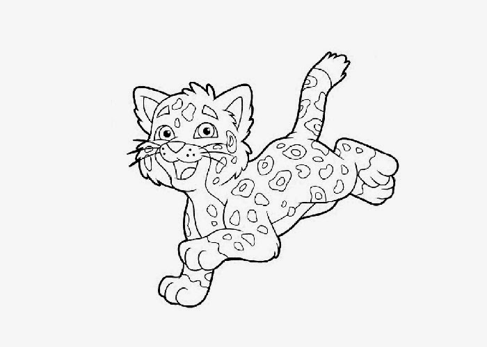 baby tigers coloring pages - photo#11
