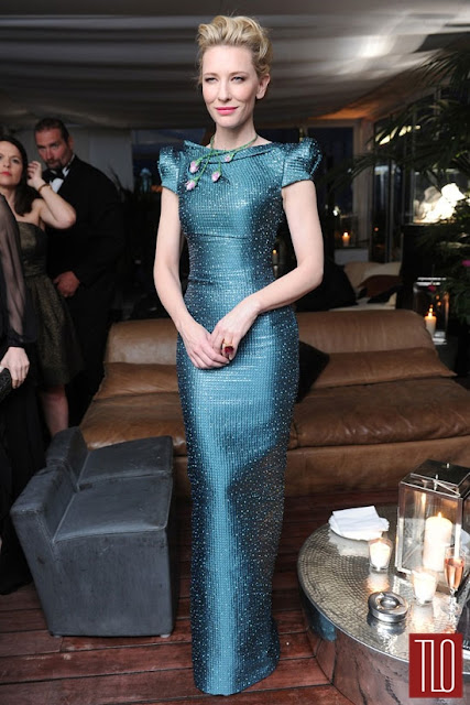 Cate Blanchett in Armani Privé for the Chopard Party 2014