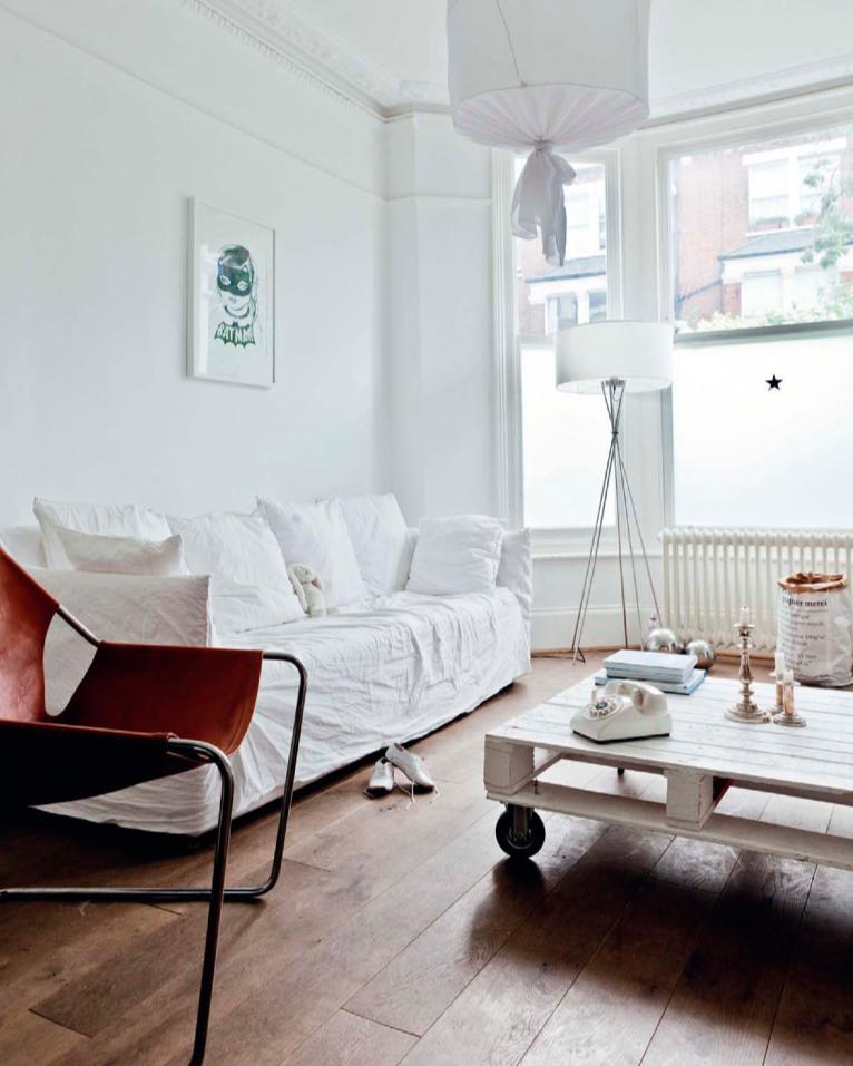 En mi espacio vital muebles recuperados y decoraci n - Jarapas para sofas ...