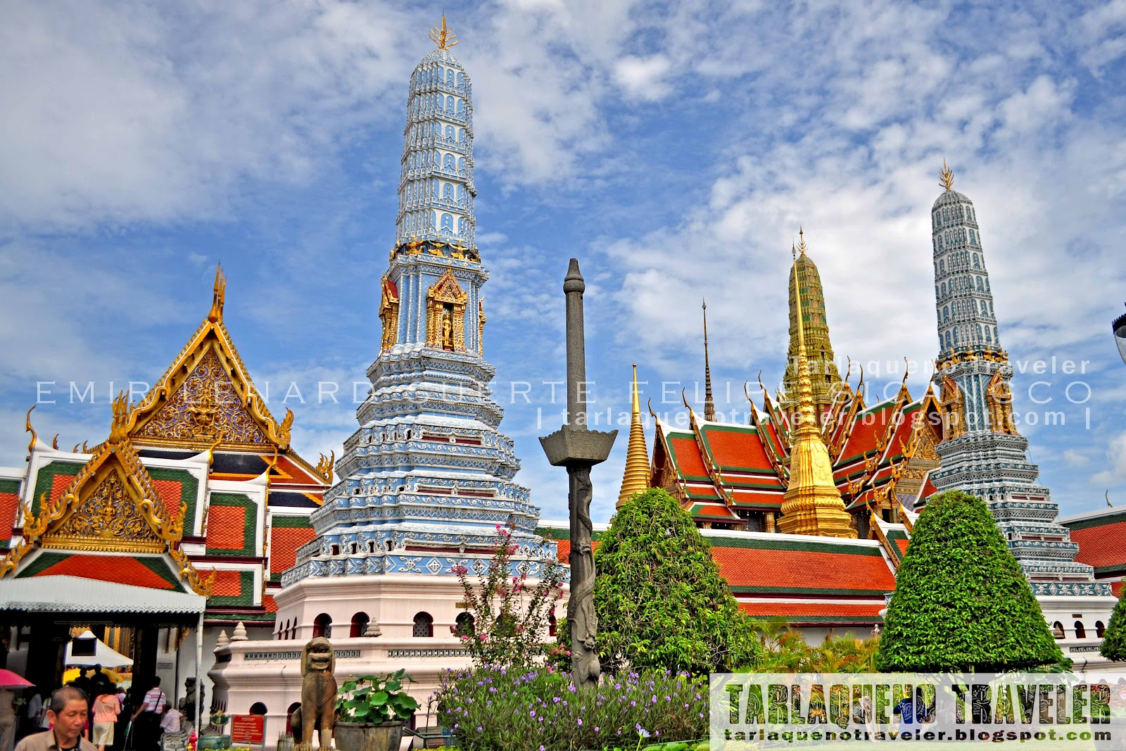 Tarlaqueno Traveler Bangkok Grand Palace
