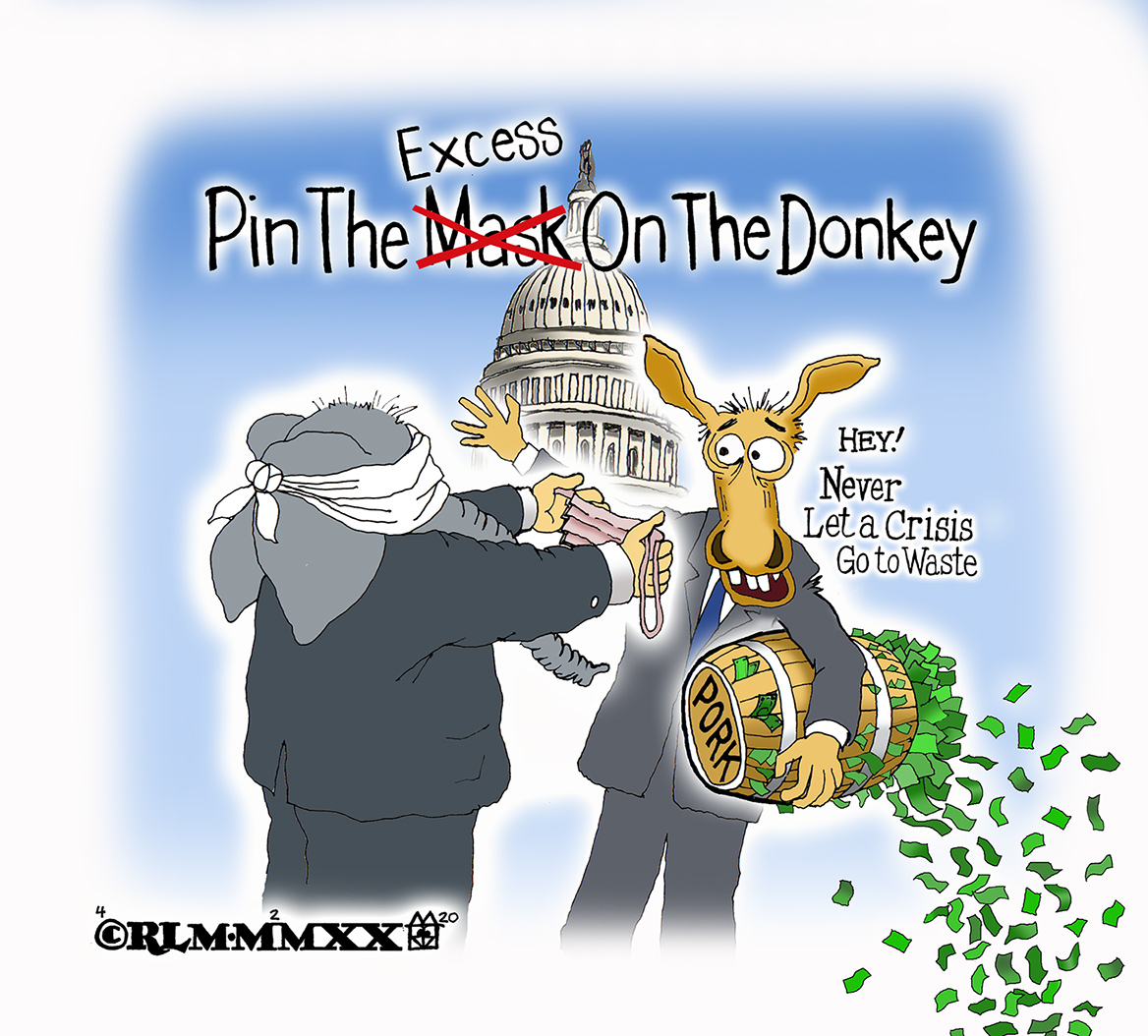 Pin the Mask On The Donkey