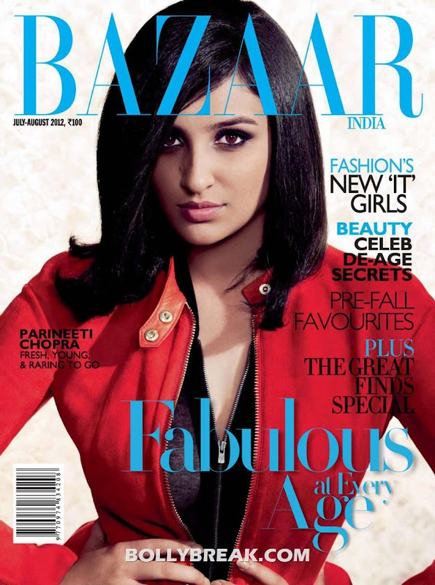 Parineeti Chopra Harpers Bazaar cover  - Parineeti Chopra Harper's Bazaar HQ Scans
