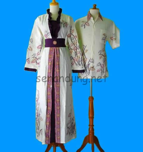 Baju Batik Muslim Modern Model Trend Terbaru