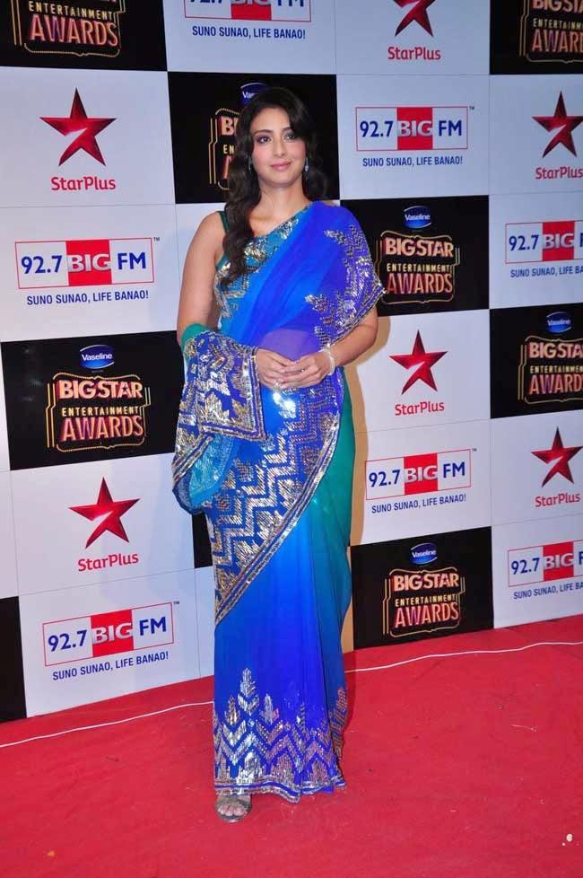 Actress Tabu At BIG STAR Entertainment Awards 2014