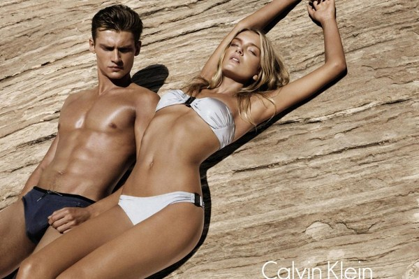 Models Lily Donaldson and Danny Beauchamp -4