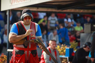 Oguzhan Tuzun (Turquia) - Fossa Olímpica - Tiro Esportivo