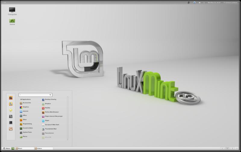Linux Mint 12 'Lisa' telah dirilis