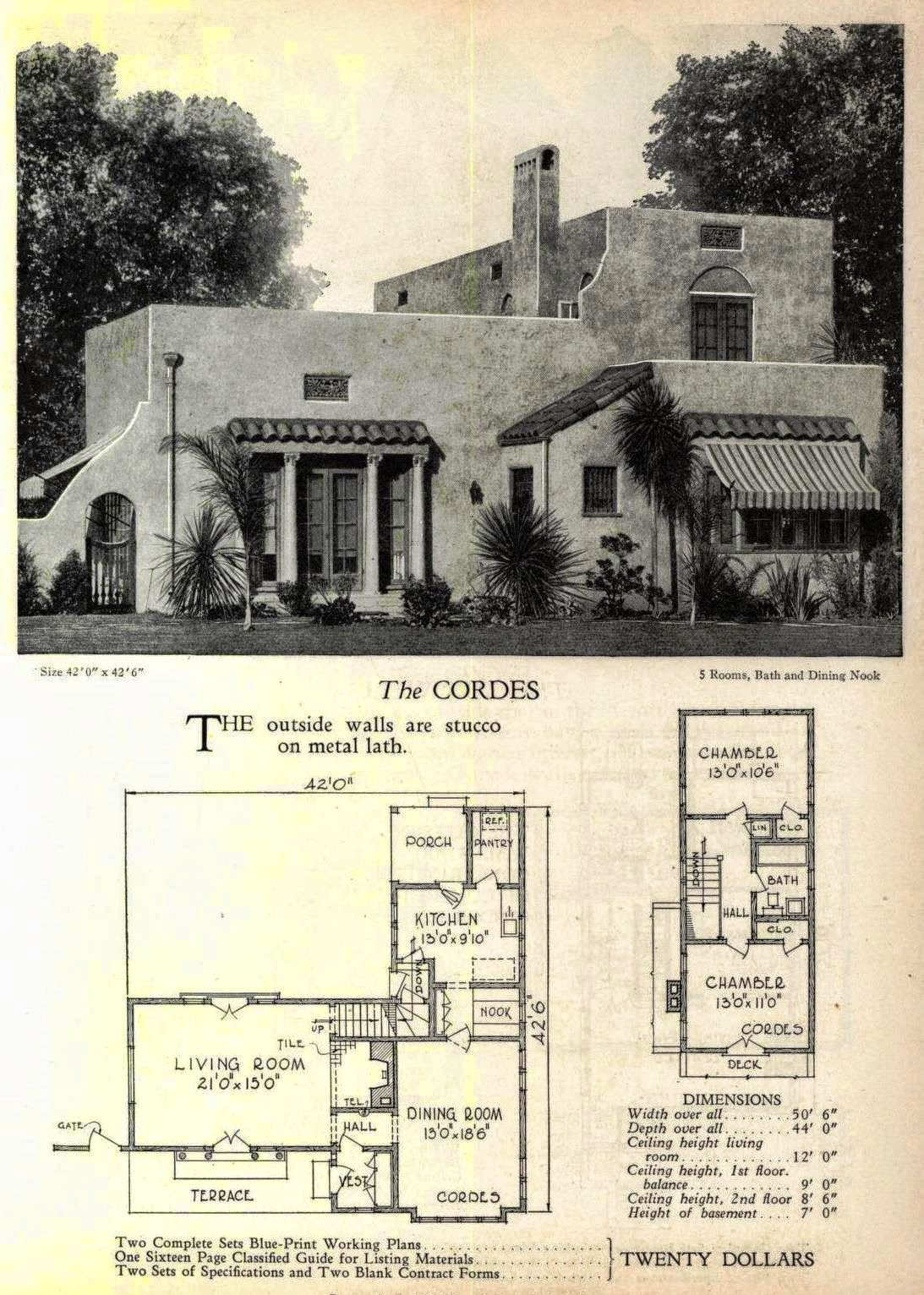 And yes even more art deco and moderne house plans