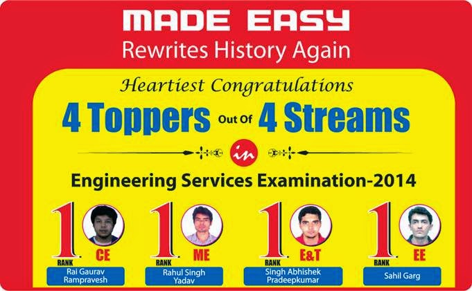 made easy ies gate psus coaching made easy rewrites history