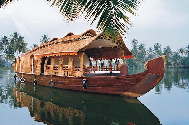 houseboat - voyage en kerala inde du sud