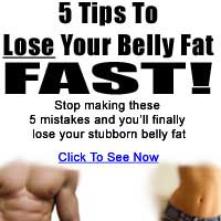 5 tips how to lose your stomach fat