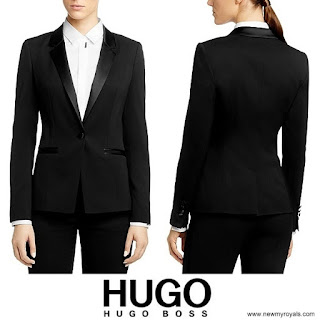 Queen Letizia Style HUGO BOSS Jawona Wool Blazer