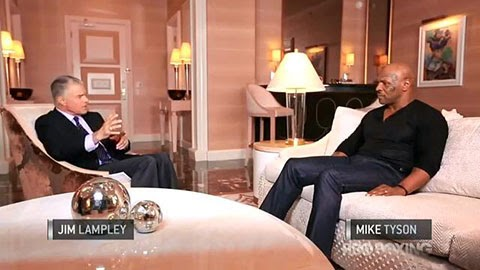 Pacquiao vs Rios - Mike Tyson Interview Video and Transcript